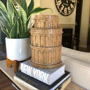Other - Wood Column Sculpture Decor